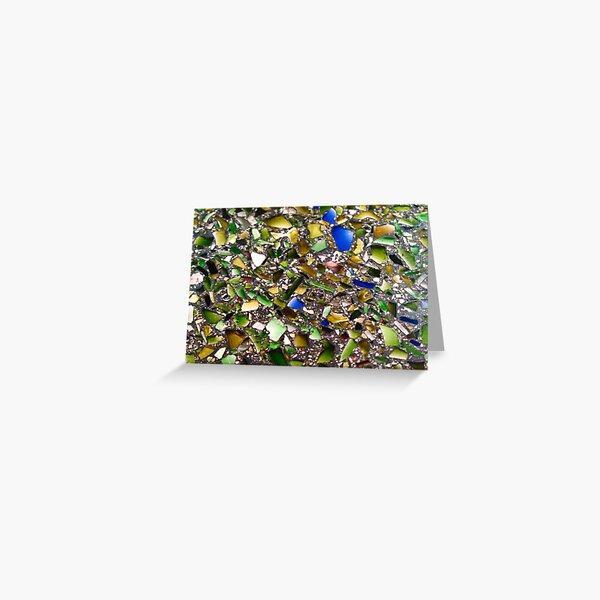 Glass Mosaic Greeting Card