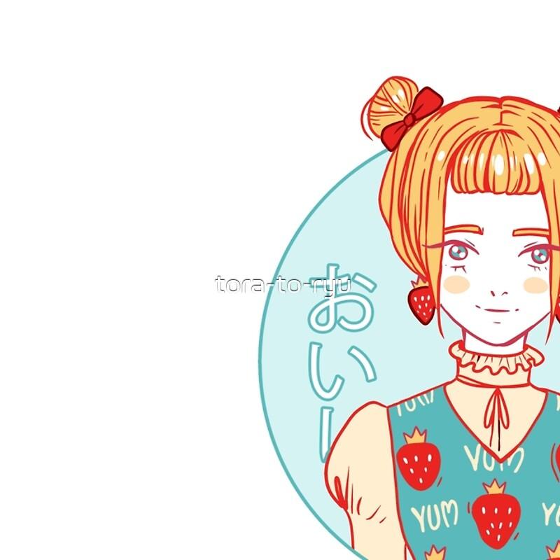 Tumblr strawberry kawaii girl japanese manga style pastel cute tumblr strawberry kawaii girl japanese manga style pastel cute anime girl voltagebd Choice Image