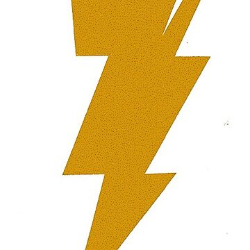 Gold Bolt of Lightning by teesbyveterans