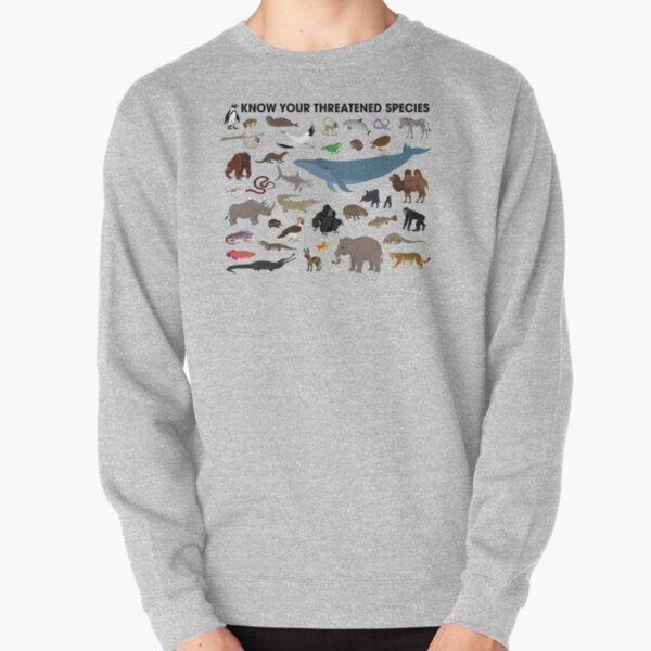 Know Your Threatened Species Pullover Sweatshirt