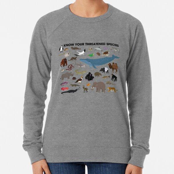 Know Your Threatened Species Lightweight Sweatshirt