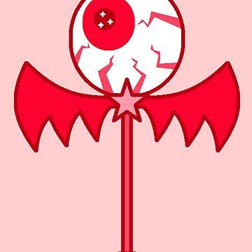 Eyeball Wand by RoseCraft