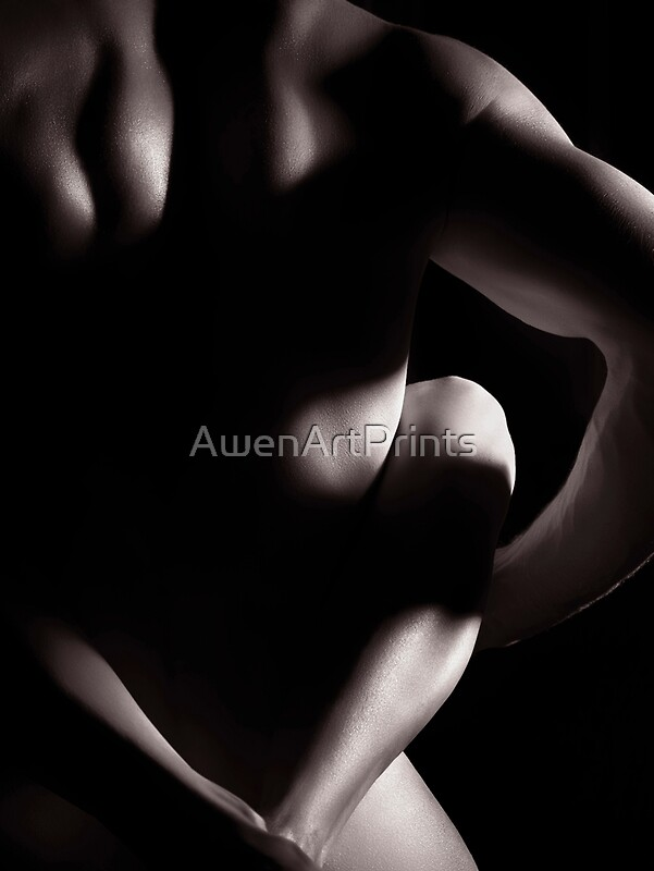 Black into white upclose erotic