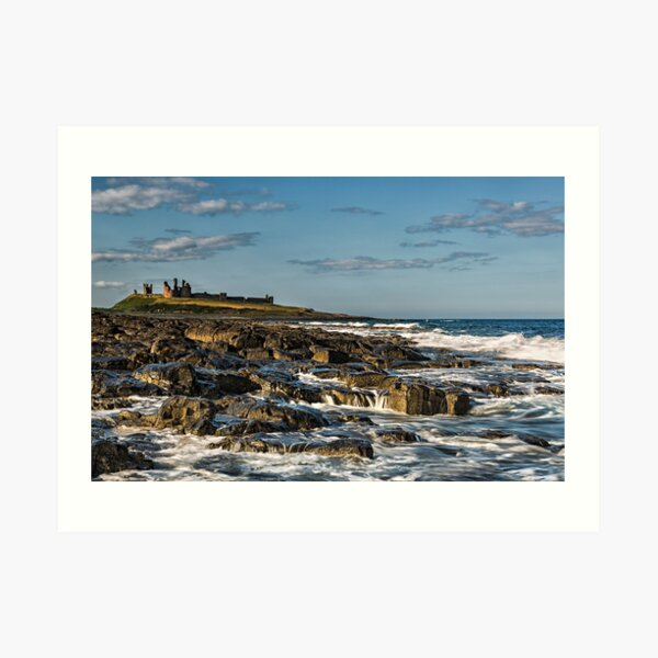 Dunstanburgh Castle Art Print