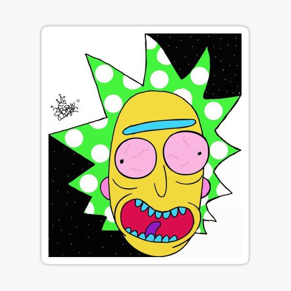 Rick & Morty Sticker