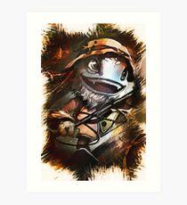 League of Legends FISHERMAN FIZZ Art Print