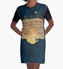 Rest On The Flight Into... Graphic T-Shirt Dress