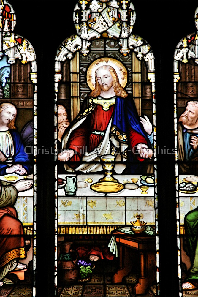 The Last Supper by Christine Till  @    CT-Graphics