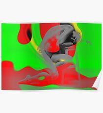 Surreal Dreams   Vibrant Modern Design   Melancholy Compromised Series  Poster