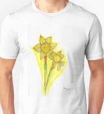 SS - Daffodil Flowers on a Sunday T-Shirt