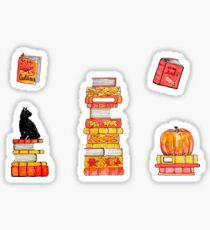 Cosy Autumn Reading Collection Sticker
