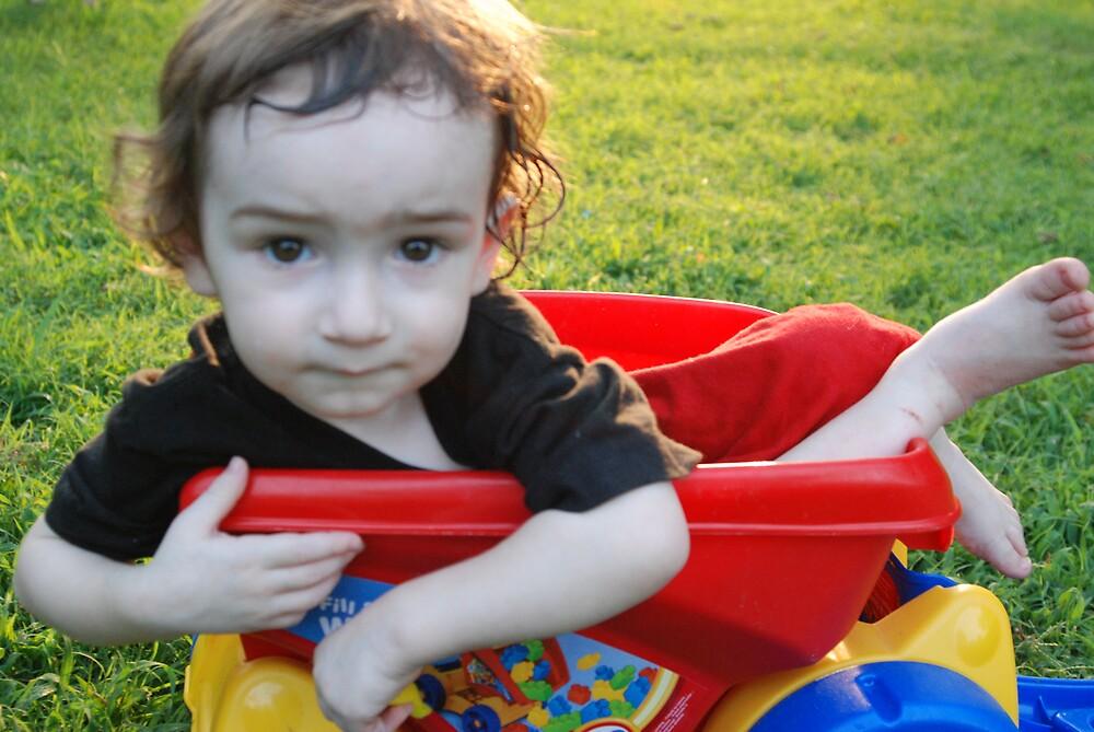 Boy in a Bucket by ShovelleS