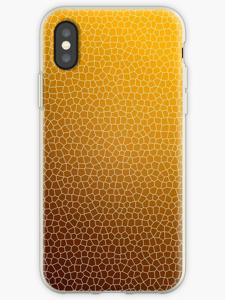 Orange Abstract Pattern by Christina Rollo