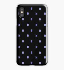 BTS+Army Purple/Black iPhone Case/Skin