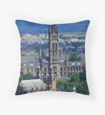 Kelvingrove Hall Throw Pillow