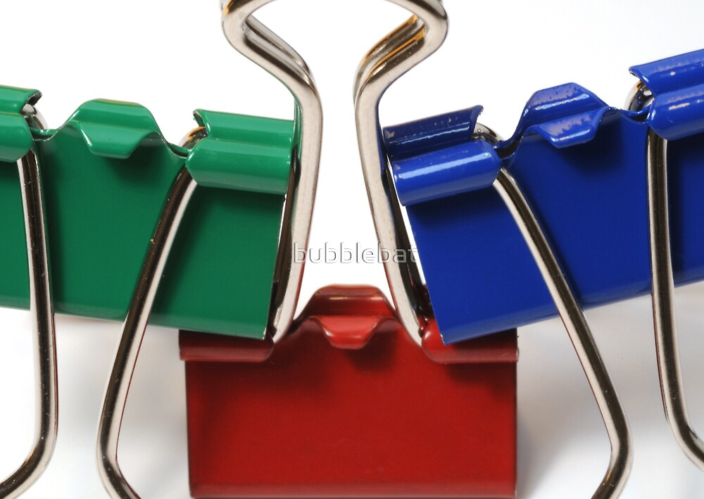 Bulldog Clips by bubblebat