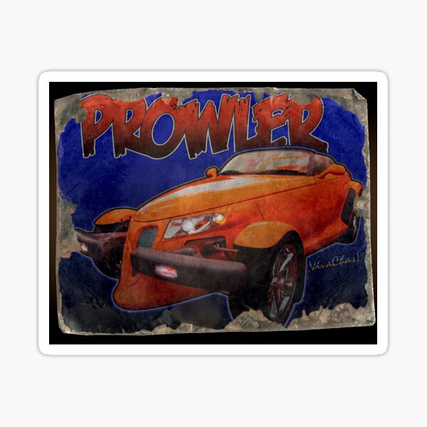 Prowler Tin Sign Discovered In 2153 Sticker