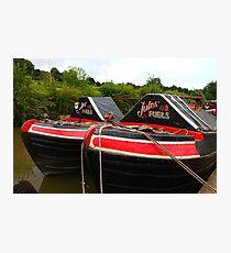Historic Working Narrowboats Photographic Print