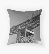 MAMMOTH IN THE SKY Throw Pillow