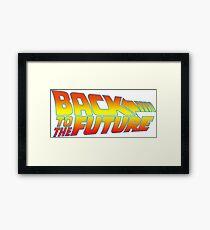 Retro 80s Framed Print
