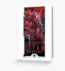 Titan Greeting Card