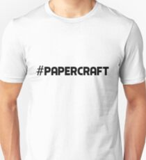#PaperCraft Hashtag Paper Craft Origami Art Paper Folding Craft Gift Idea T-Shirt