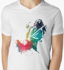Ink Frusciante Men's V-Neck T-Shirt