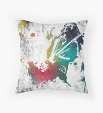 Ink Frusciante Throw Pillow