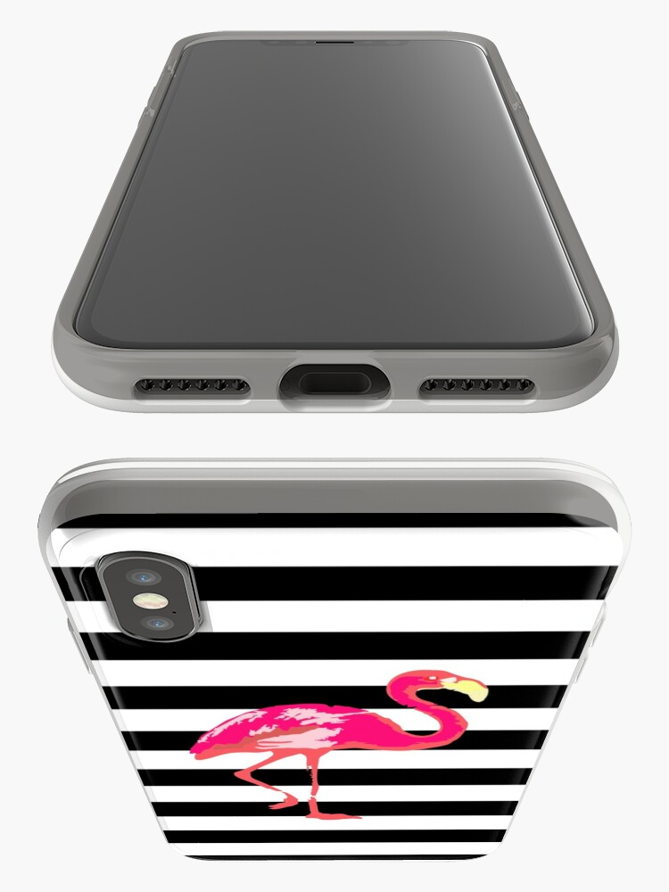 Alternate view of Flamingo iPhone Cases & Covers