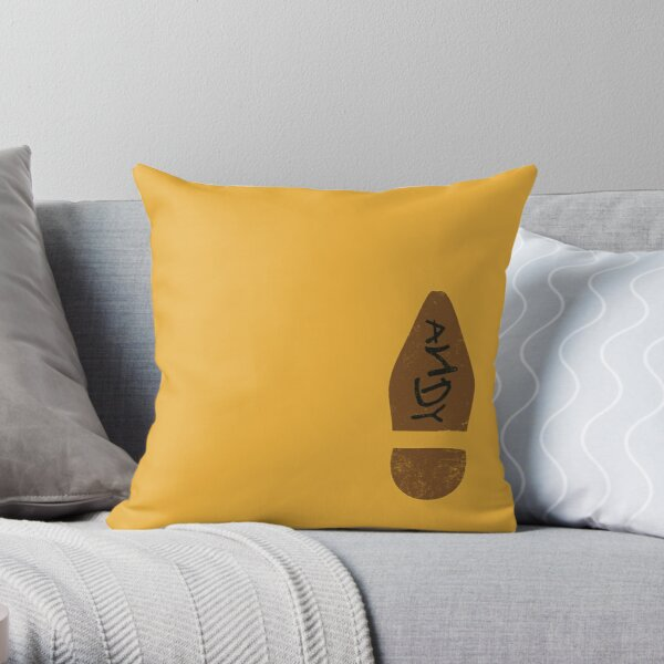Woody's Shoe Throw Pillow