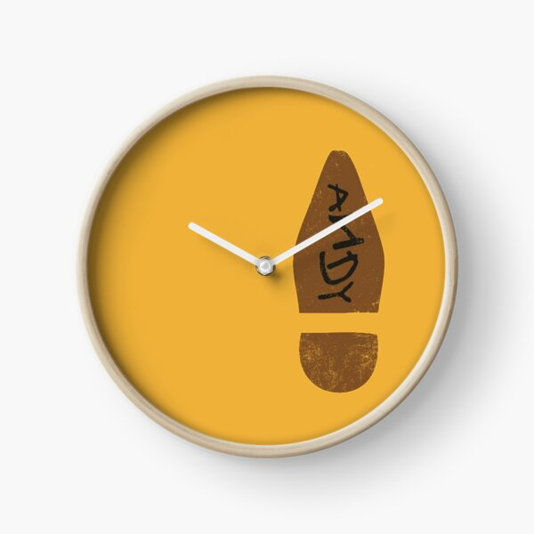 Woody's Shoe Clock