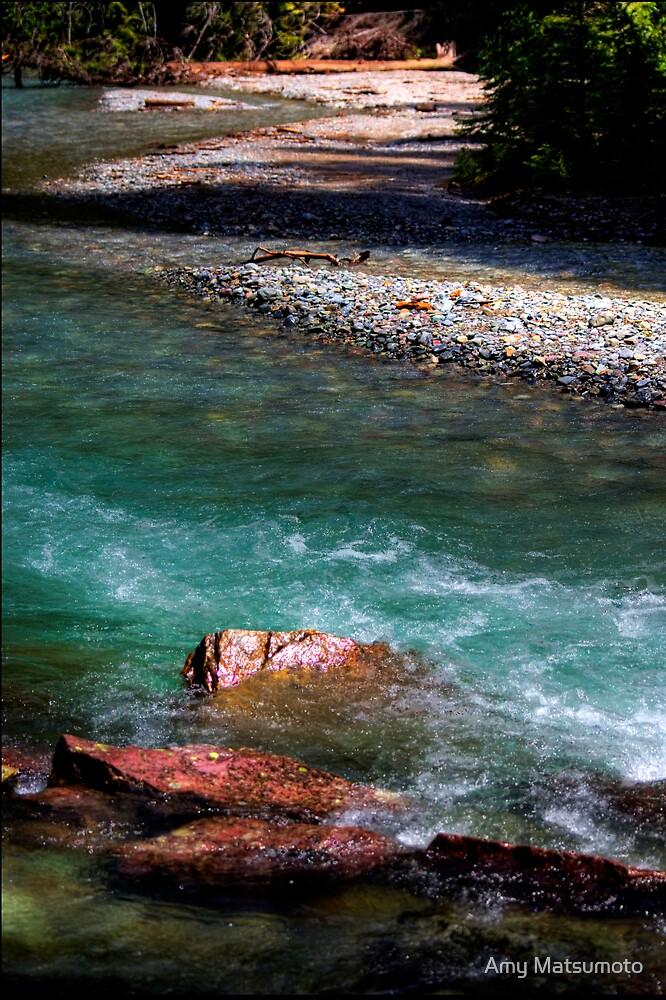Glacier National Park  by Amy Matsumoto
