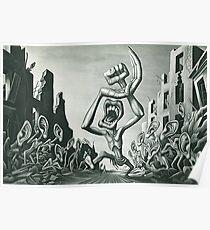 American Anti-USSR Propaganda: A Caricature Of Communism (1945) - Boris Artzybasheff Poster