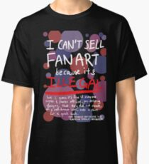 Self-expression (black) Classic T-Shirt