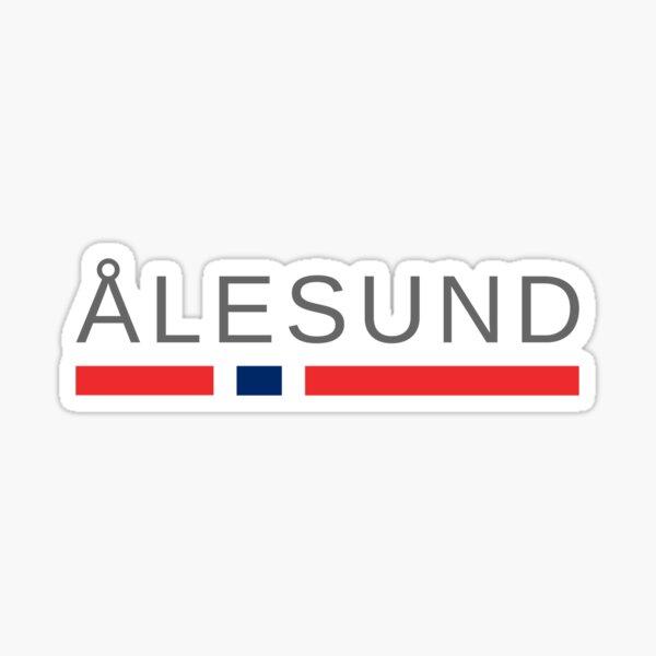 Ålesund Norway Sticker