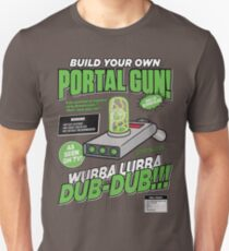 Build Your Own Portal Gun Slim Fit T-Shirt