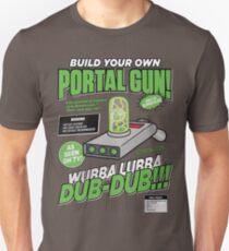 Camiseta unisex Construye tu propio arma Portal