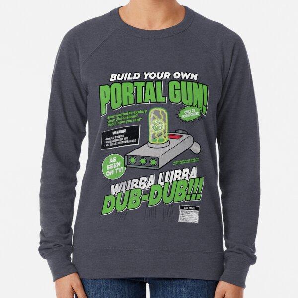 Build Your Own Portal Gun Lightweight Sweatshirt