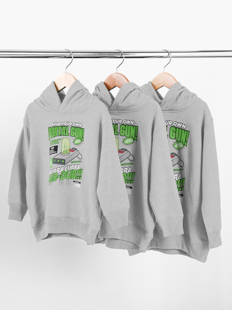 Alternate view of Build Your Own Portal Gun Toddler Pullover Hoodie