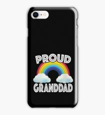 Proud Grand Dad Of LGBT Gay Ally Community Rainbow iPhone Case/Skin