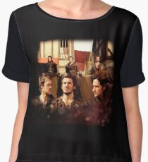 Brother in Arms Women's Chiffon Top