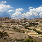 Gozo countryside in colour by Christian  Zammit