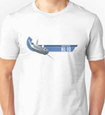 NORTHROP HL-10: Wingless Flight T-Shirt