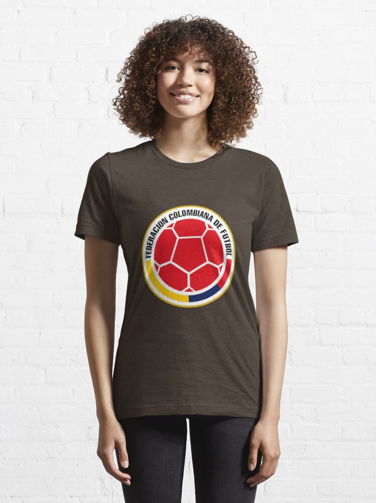 Alternate view of Federacion Colombiana de Futbol Essential T-Shirt