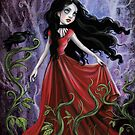 Andrea Raven Gothic Romance by DianaLevinArt