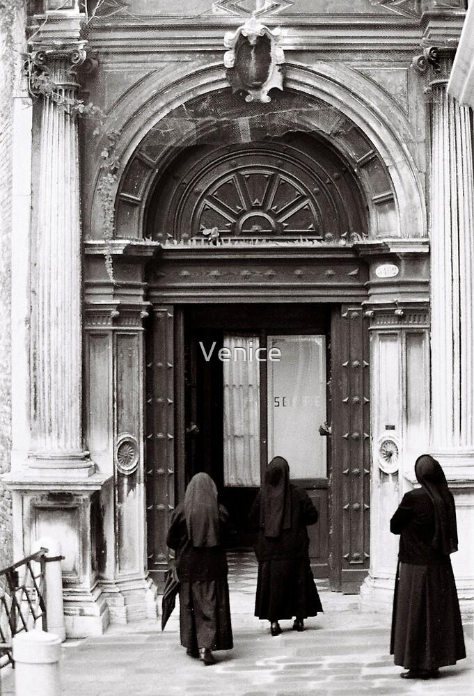 Three Nuns by Venice
