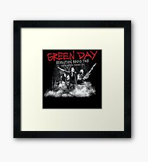 GREEN DAY REVOLUTION RADIO 2017 TAS Framed Print