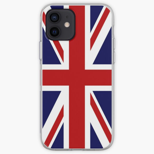 Union Jack Flag of the UK iPhone Soft Case