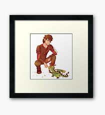 Terrible Terror - Hiccup (HTTYD) Framed Print