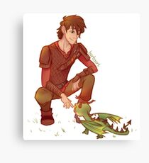 Terrible Terror - Hiccup (HTTYD) Canvas Print